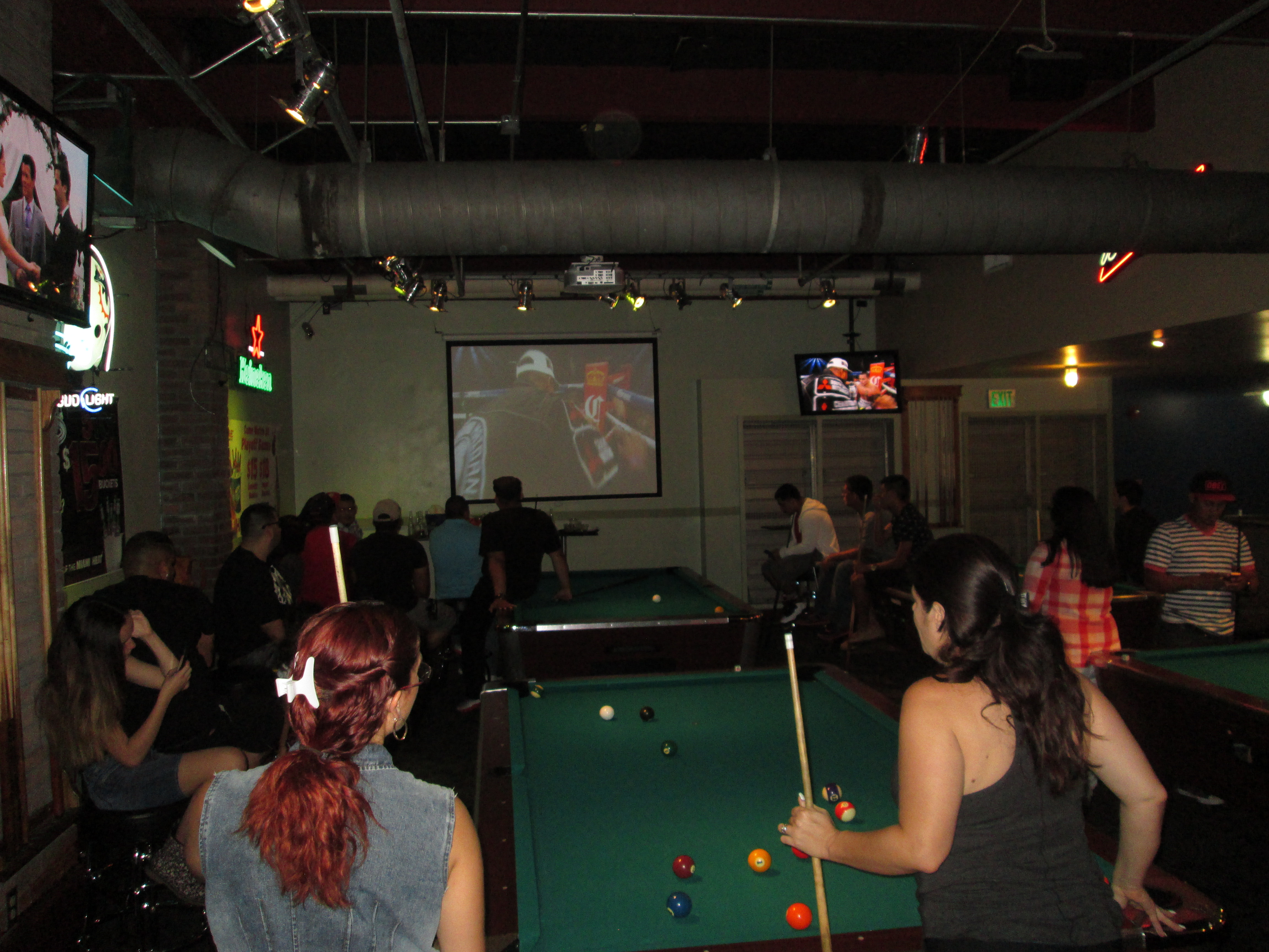 ... Mayweather Fight Night GameTime Miami Pool Tables ...