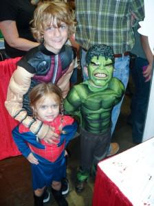 Comic_Con-Tampa-GameTime-Kids-Hulk-Spiderman
